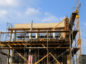 Film Faced Plywood in Concrete Shuttering Projects