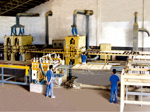 Auto Sanding Machine for film faced plywood