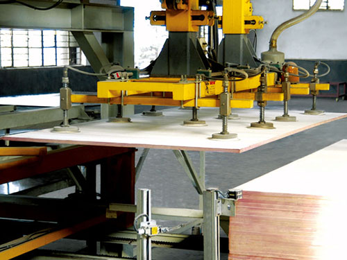 construction plywood auto hot press machine