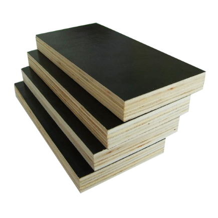 black plywood