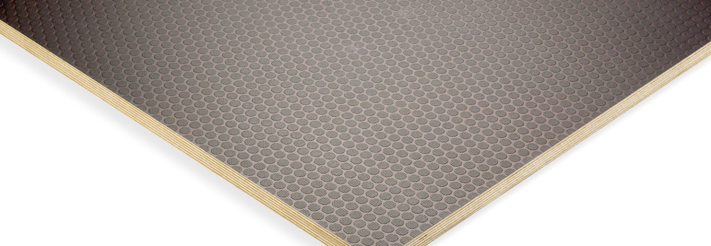 anti slip resistant plywood hex